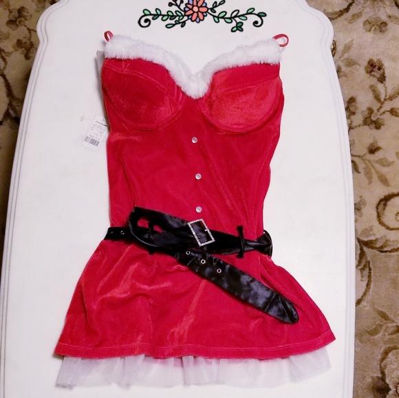 83b1521b93 Mrs Claus NEW Christmas Lingerie GIFT Size Medium